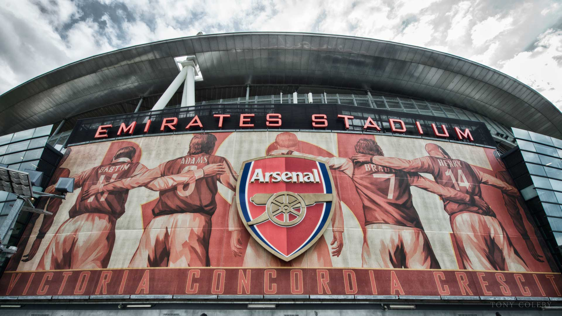 Emirates Stadium, Home of Arsenal Football Club (FA Cup Final Day 2014, Tony Coleby)